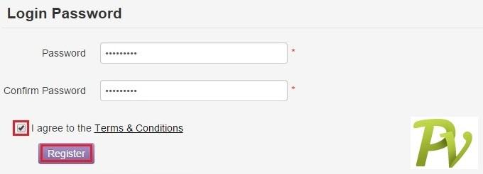 Registration. Login.