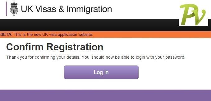 Registration. Confirmation.