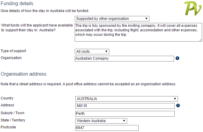 Австралия other organisation