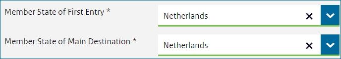 Анкета для визы в нидерланды 2020 скачать